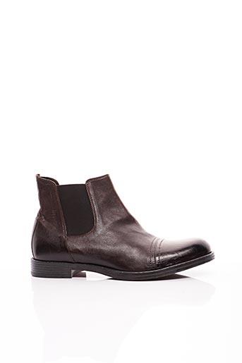 Bottines/Boots marron HUNDRED 100 pour homme