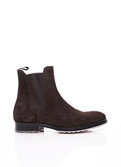 Bottines/Boots marron PROFESSION BOTTIER pour homme