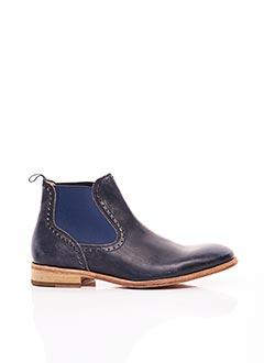 Bottines/Boots bleu PROFESSION BOTTIER pour homme