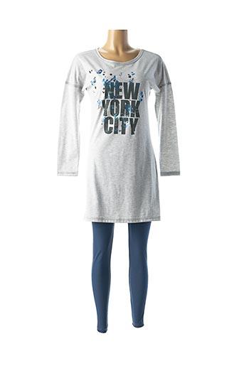 Pyjama bleu RINGELLA pour femme