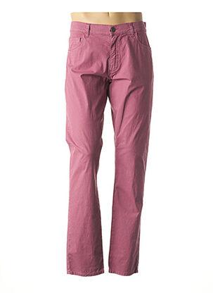 Pantalon casual violet LCDN pour homme