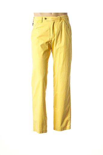 Pantalon casual jaune DIGEL pour homme