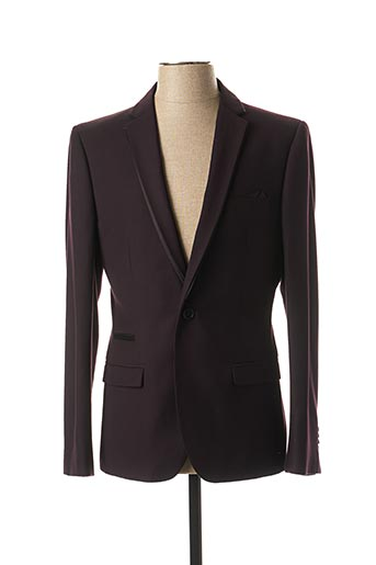 Veste chic / Blazer violet KURT & KROSS LONDON pour homme
