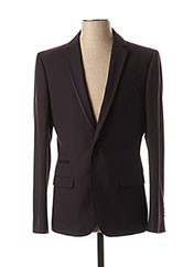 Veste chic / Blazer violet KURT & KROSS LONDON pour homme seconde vue