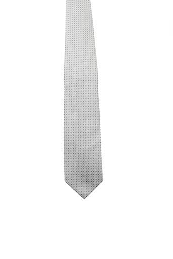 Cravate gris FRED GIL pour homme