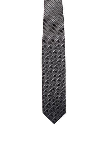 Cravate marron FRED GIL pour homme