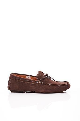 Chaussures bâteau marron ARTON SHOES pour homme
