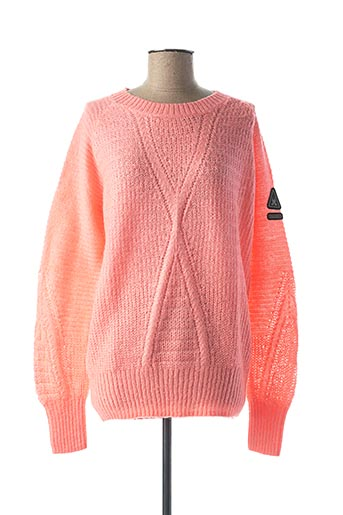 Pull col rond rose GAASTRA pour femme
