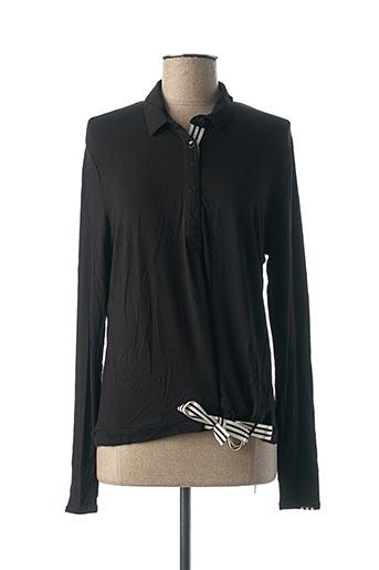 T-shirt manches longues noir ALIZARINE pour femme