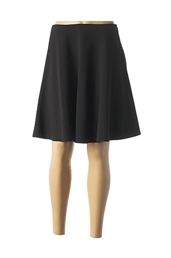 Jupe mi-longue noir GANT pour femme