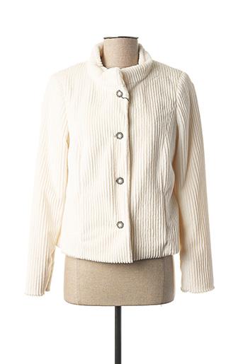 Veste chic / Blazer beige EUGEN KLEIN pour femme