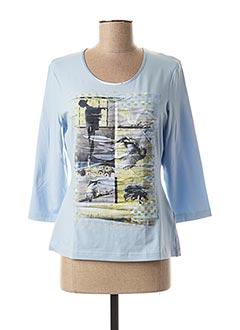 T-shirt manches longues bleu GERRY WEBER pour femme