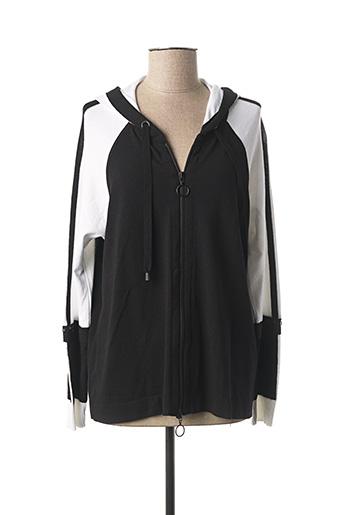 Veste casual noir FABER pour femme