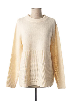 Pull col rond beige GERRY WEBER pour femme
