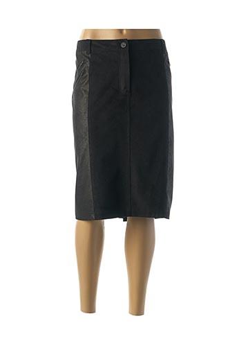 Jupe mi-longue noir GERRY WEBER pour femme