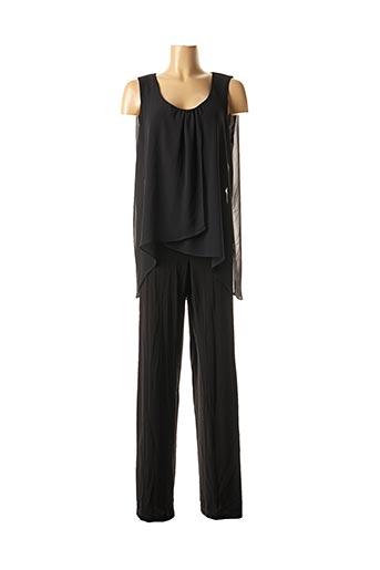 Combi-pantalon noir ELENA MIRO pour femme