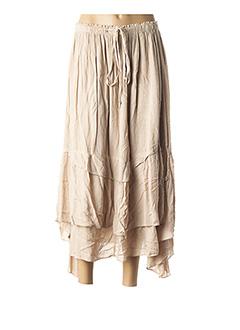 Jupe longue beige ALAIN MURATI pour femme