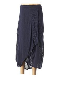 Jupe longue bleu OLIVER JUNG pour femme