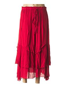 Jupe longue rouge ALAIN MURATI pour femme