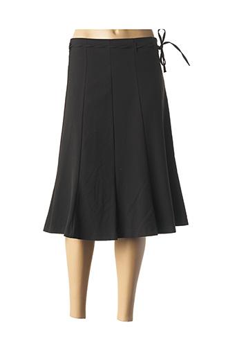 Jupe mi-longue noir CAPUCCINA pour femme