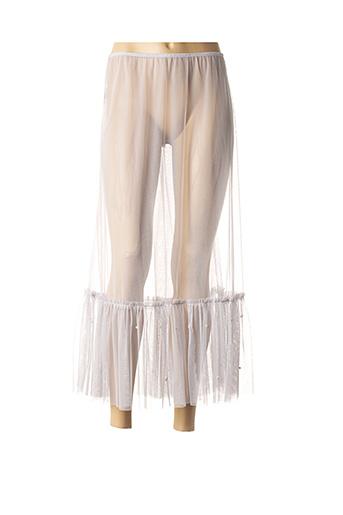 Jupon /Fond de robe gris KOKOMARINA pour femme