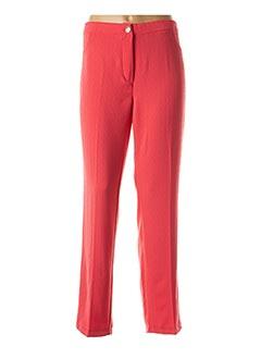 Pantalon chic orange ALAIN MURATI pour femme