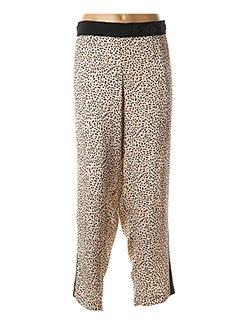 Pantalon casual beige GIANI F pour femme