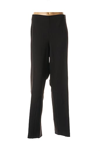 Pantalon casual noir CARMEN pour femme