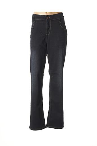 Jeans bootcut noir MAT. pour femme