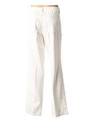 Pantalon casual blanc VERSACE pour femme seconde vue