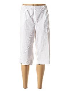 Corsaire blanc CHALOU pour femme