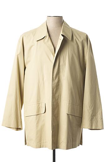 Manteau court beige BONGARDI pour homme