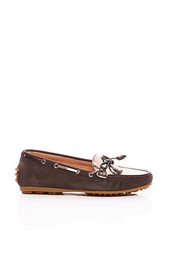 Chaussures bâteau marron TRIVER FLIGHT pour femme