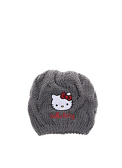 Bonnet gris HELLO KITTY pour fille