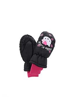 Gants noir HELLO KITTY pour fille