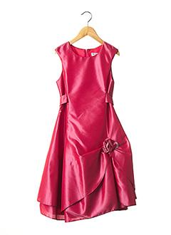 Robe longue rouge EMMA LA FOLIE pour fille