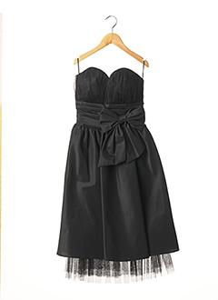 Robe mi-longue noir EMMA LA FOLIE pour femme