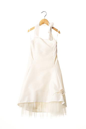 Robe longue beige EMMA LA FOLIE pour fille