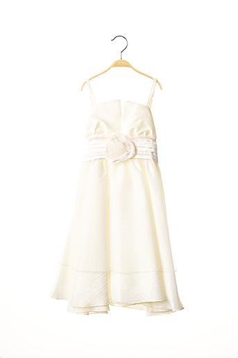 Robe longue beige PASSANELA pour fille