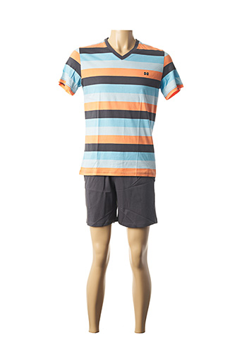 Pyjashort gris HOM pour homme
