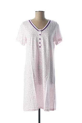 Chemise de nuit violet ARABESCO pour femme