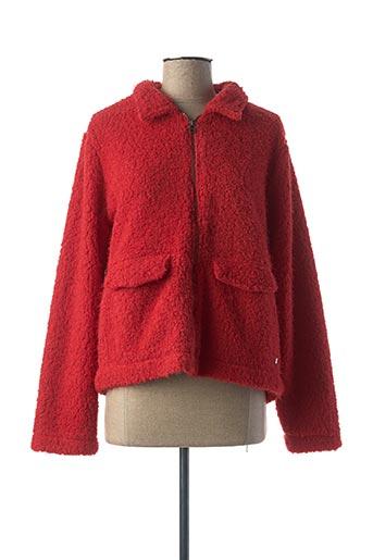 Veste casual rouge THALASSA pour femme