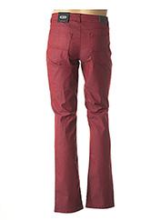 Pantalon casual rouge DELAHAYE pour homme seconde vue