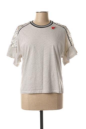 T-shirt manches longues noir VOODOO pour femme