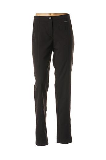 Pantalon chic noir VOODOO pour femme