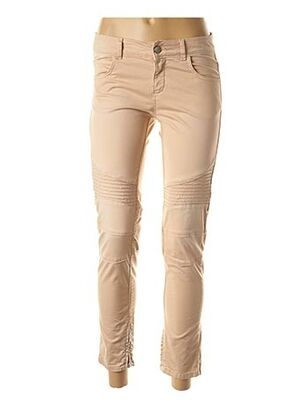 Pantalon 7/8 beige TWIN-SET SIMONA BARBIERI pour femme