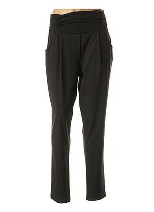Pantalon chic noir POUSSIERE D'ETOLE pour femme