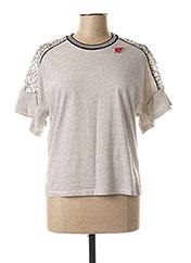 T-shirt manches longues noir VOODOO pour femme seconde vue