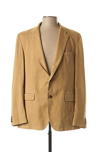 Veste chic / Blazer beige TOMMY HILFIGER pour homme