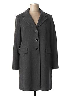 Manteau long gris GIL BRET pour femme